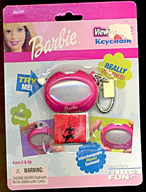 Barbie Keychain & Binoculars 3d Viewer