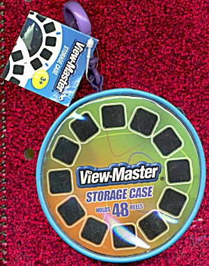 View-master Zippered Storage Case With Clip