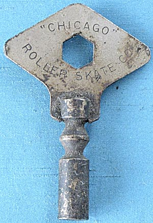 Vintage Chicago Roller Skate Key