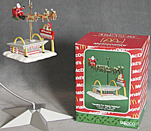 Mcdonalds Heading For Happy Holidays Ornament