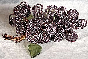 Vintage Glass Beaded Flowers
