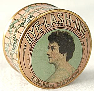 Vintage Vanity Tin Eye-Lash-Ine Eyelash Remedy (Image1)