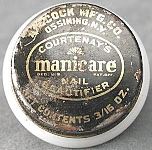 Vintage Courtenay's Manicare Jar (Image1)