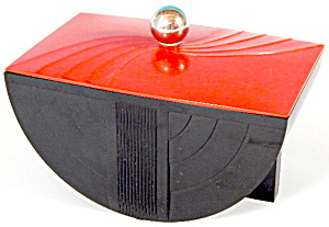 Art Deco Bakelite Box