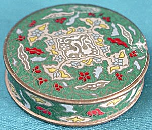 Vintage Sample Face Powder Box