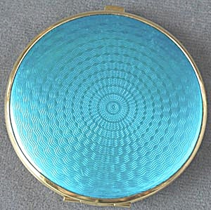 Vintage Double Sided Mirror Compact