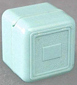 Vintage Tiny Turquoise Ring Box (Image1)