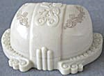Vintage Art Nouveau Ivory Colored Embossed Ring Box (Image1)
