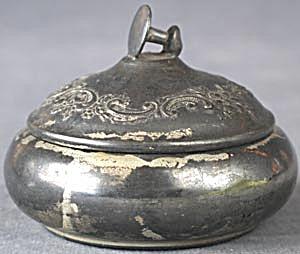 Vintage Silver Stud Box (Image1)