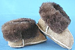Vintage Leather Baby Shoes (Image1)