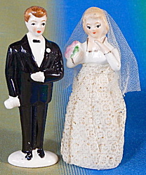 Vintage Groom Cake Topper