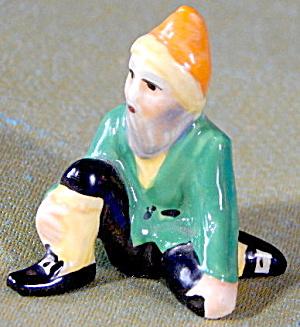 Vintage MZ Ceramic Irish Leprechaun Ceramic Figurine (Image1)