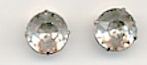 Vintage Pair Rhinestone Buttons