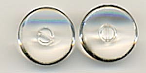 Vintage Clear Glass Buttons (Image1)