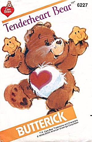Care Bear Tenderheart Bear Butterick Pattern (Image1)