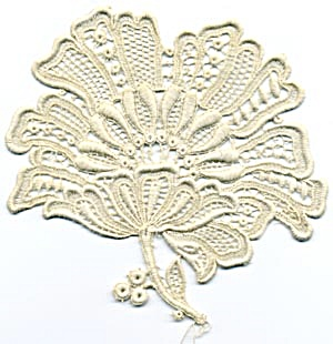 Vintage Flower Applique (Image1)