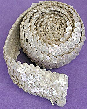 Vintage Sequined Trim