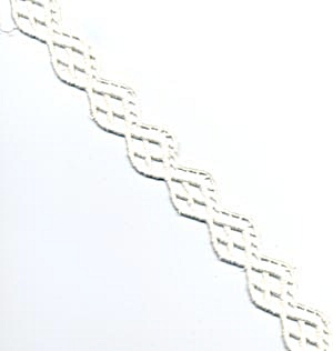 Vintage Thick White Lattice Trim (Image1)