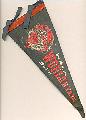 Vintage New York World's Fair Pennant