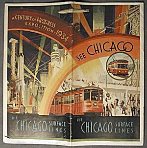 Chicago World's Fair See Chicago Surface Lines