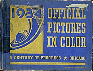 1934 Official Pictures In Color Chicago (Image1)