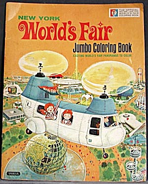 New York World's Fair Jumbo Coloring Book (Image1)