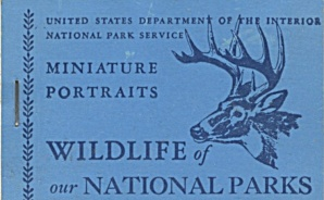 Wildlife Of Our National Parks Miniature Portraits Book