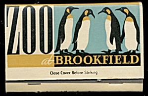 Vintage Brookfield Zoo Matchbook