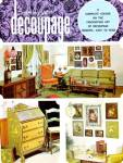 Click here to enlarge image and see more about item AC13: Creating With Decoupage A Complete Course on the