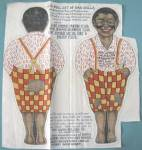 Vintage Aunt Jemima Wade Cloth Doll