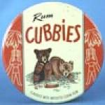 Click here to enlarge image and see more about item ADTIN138: Vintage Rum Cubbies Tin