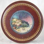 Click here to enlarge image and see more about item ADTIN145: Vintage Fruit Tin