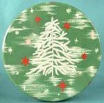 Click here to enlarge image and see more about item ADTIN149: Vintage Feather Christmas Tree Tin