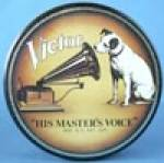 Click here to enlarge image and see more about item ADTIN152: RCA Victor His Masters Voice Nipper Tin