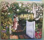 Click here to enlarge image and see more about item ADTIN1: Delacre Flower Garden Tin & Strawberry Tin