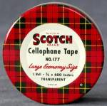 Scotch Cellophane Tape Tin
