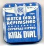 Click here to enlarge image and see more about item ADTIN233: Kirk Watch Dial Tin