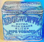 Click here to enlarge image and see more about item ADTIN250: Vintage Edgeworth Slice Smoking Tobacco Tin