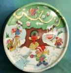 Click here to enlarge image and see more about item ADTIN47: Vintage Christmas Keebler Tin 1979