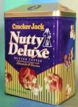Click here to enlarge image and see more about item ADTIN4: Cracker Jack Nutty Deluxe Butter Toffee Tin