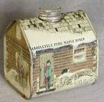 Click here to enlarge image and see more about item ADTIN5: Vintage Maple Syrup Tin