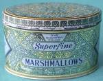 Click here to enlarge image and see more about item ADTIN79: Vintage Woolworth's Woolco Marshmallow Tin