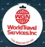 Click here to enlarge image and see more about item ADVKEY36: Key Chain: WGN World Services, Inc.