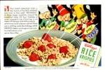 Vintage Rice Krispies Advertising Ink Blotter