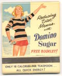 Domino Sugar Large Advertising Matchbook