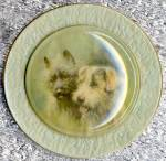 Click to view larger image of Vintage Dog Picture Wall Hanging (Image2)