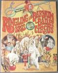 Click here to enlarge image and see more about item ASP101: Vintage Ringling/Barnum Bailey Circus Program