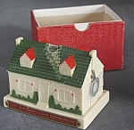 Click here to enlarge image and see more about item BAFIG15: Vintage House Bank