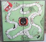 Click here to enlarge image and see more about item BAVT3: Vintage Game Board with Black Children