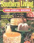 Click here to enlarge image and see more about item BCG11: Southern Living 1988 Annual Recipes
